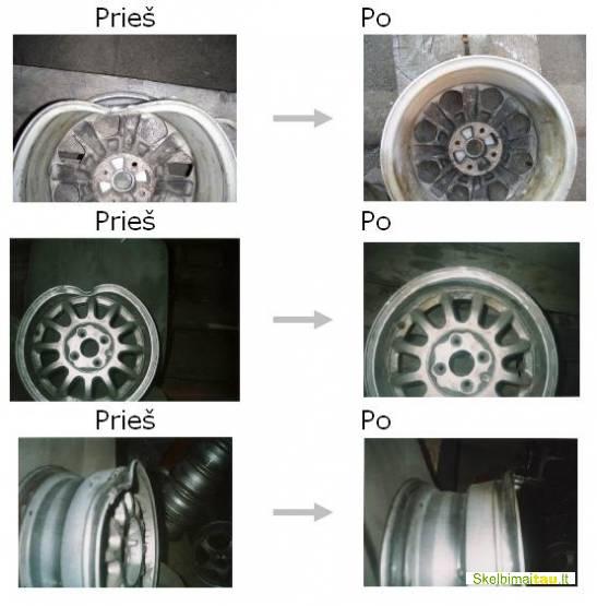 automobilio padangų montavimas