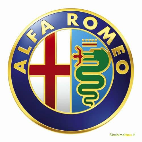 Alfa romeo  automobilių dalys pagal užsakymą