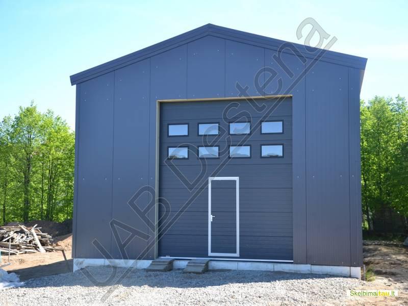 Angarų statyba durys, langai, vartai