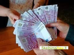 Ar skubiai reikia pinigų paskolos