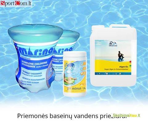 Baseino chemijos ir priežiūros priemonės