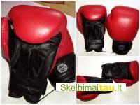 Bokso pirštinės 12 oz natūrali oda vilniuje...,boxing gloves