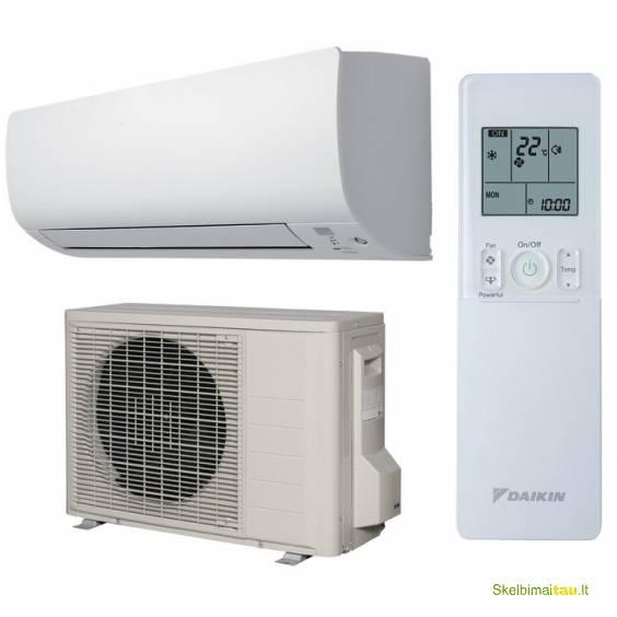 Daikin oro kondicionieriai-šilumos siurbliai nr. 1 pasaulyje