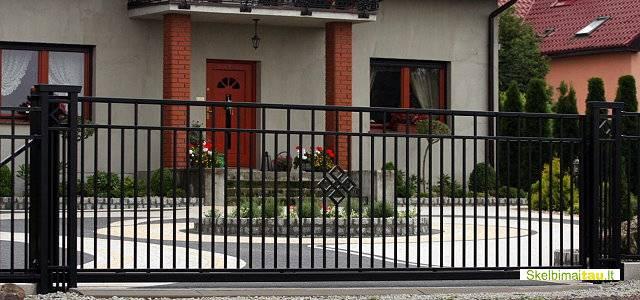 Dekoratyvinės tvoros, metalinės tvoros ir vartai