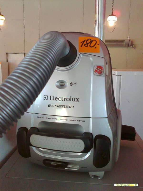 Dulkiu siurblys electrolux zeo 5430