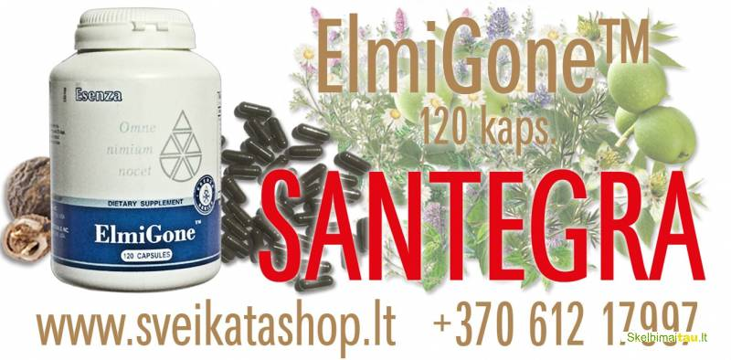 Elmigone™ 120 kaps - maisto papildas santegra / 8 612 17997