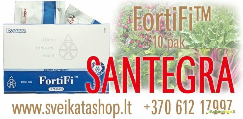 Fortifi™ 10 pak - maisto papildas santegra / mob 8 612 1799
