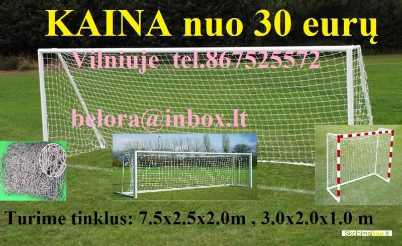 Futbolo vartų tinklas mini futbolui nuo 30 euro