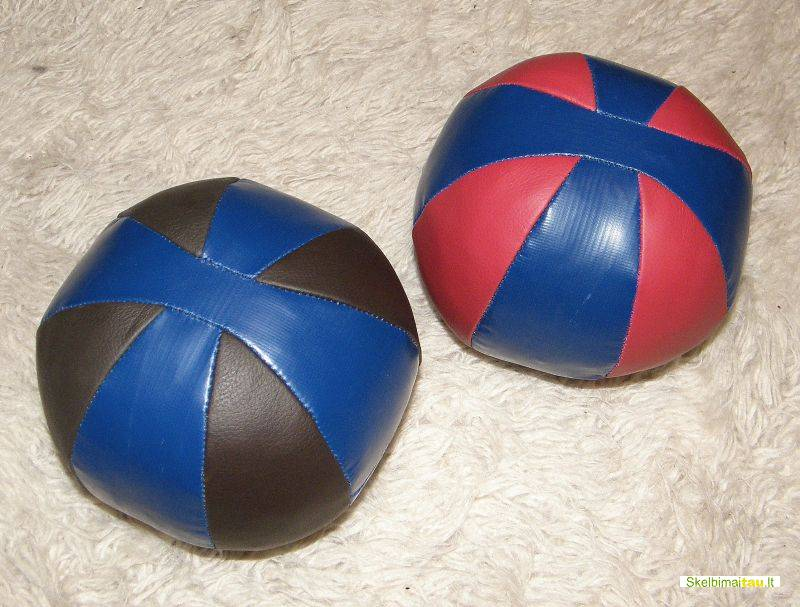 Kamuoliai kimšti ,kimštiniai kamuoliai