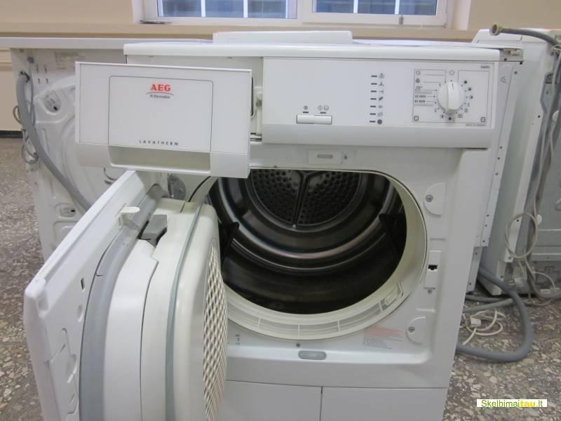 Džiovinimo mašina aeg modelis 56400 kondensacinė