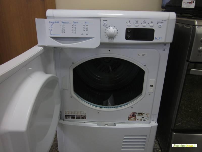 Džiovinimo mašina indesit modelis idce 845 a kondensacinė