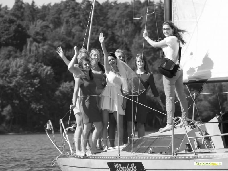 Jachtos nuoma kauno mariose