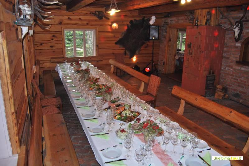 Kubilas, pirtelė, salė kaimo turizmo sodyboje prienų  raj.