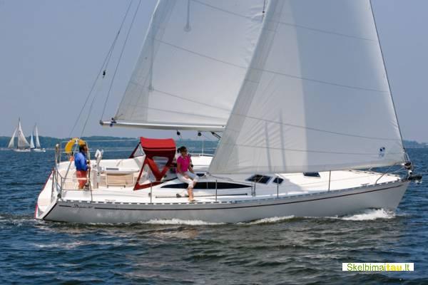 Pasiplaukiojimas jachta kauno mariomis iki 8 žm.