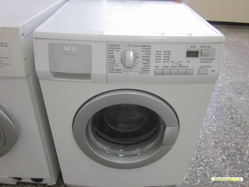 Skalbimo mašina aeg modelis lavamat 5,0