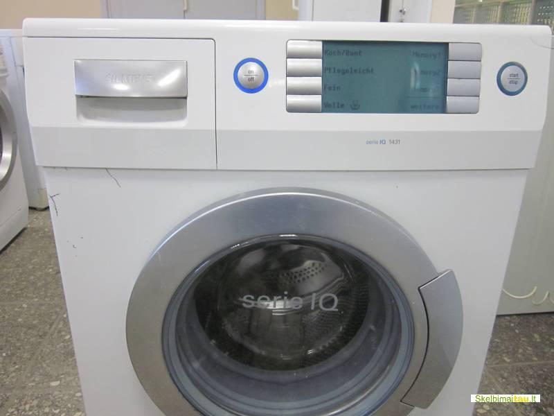 Skalbimo mašina siemens modelis wtq 1431