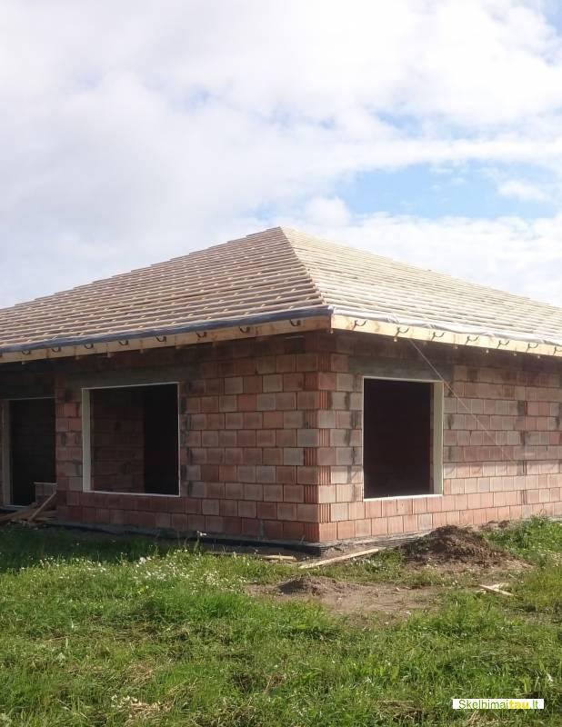 Skardinimo darbai, stogo darbai, karkaso statymas