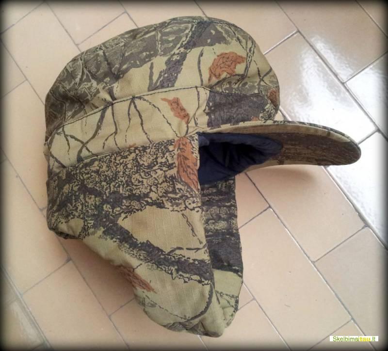 Kepurė medžiotojui varovui,kepurė žvejui