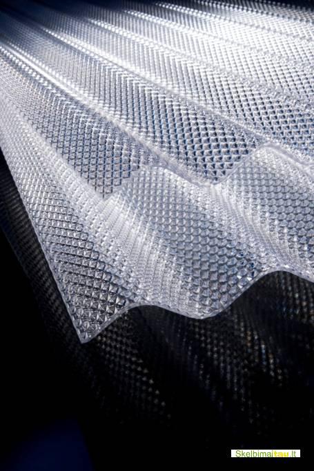 Kokybiška stogo danga - banguotas polikarbonatas