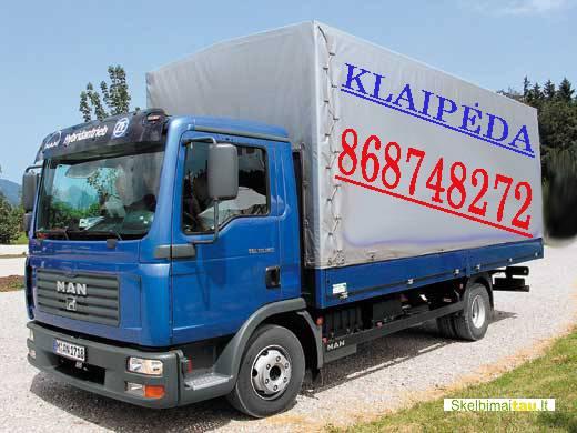 Kroviniu gabenimas, perkraustymo paslaugos.. klaipeda