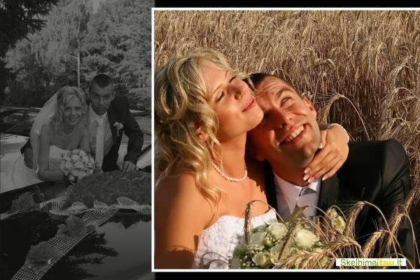 Vestuviu fotografas nuotraukos, koliažai,  fotofilmas, foto