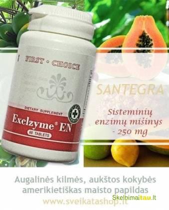 Kokybiški santegros papildai , vitaminai mažomis kainomis