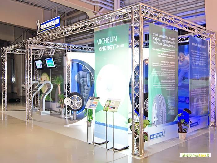 Konstrukcinės sistemos parodoms ir įvairiems renginiams