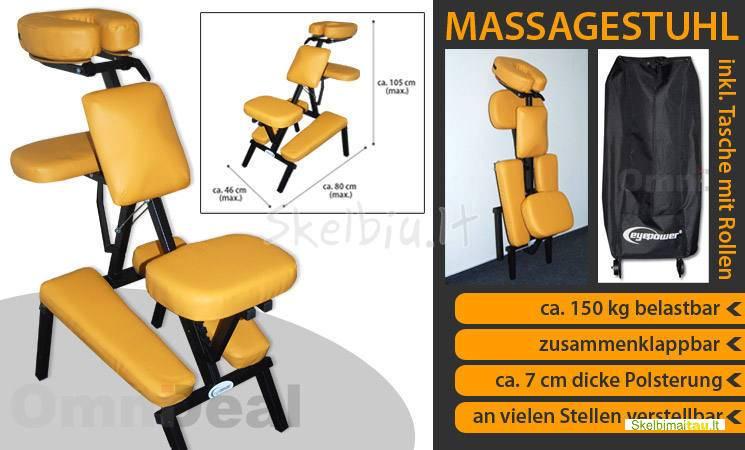 Kosmetikos - masažo kėdė