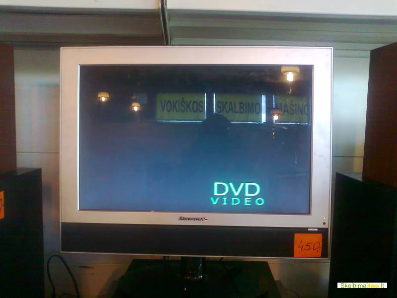 Lcd tv/dvd combo prosonic