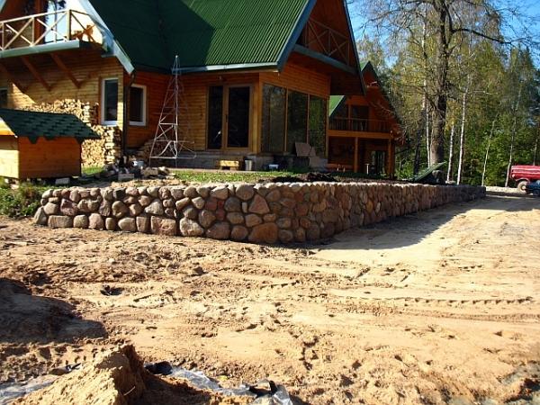 Mūro darbai iš akmens