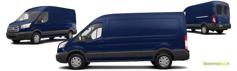 Nuomojame krovininius ford transit mikroautobusus