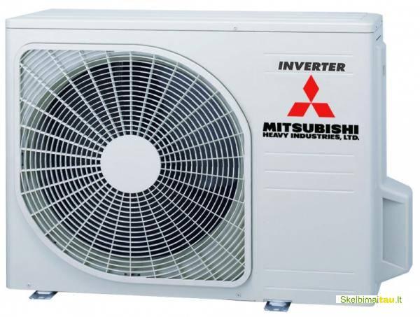 Oro kondicionieriai – šilumos siurbliai