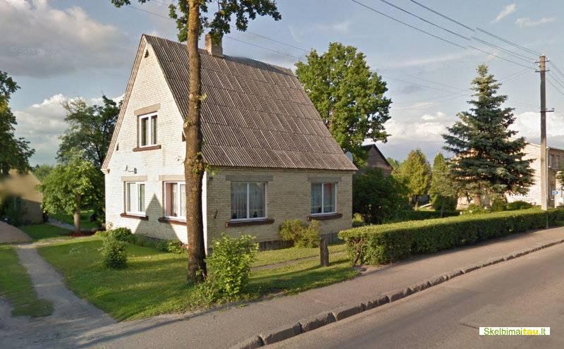 Parduodamas geros būklės namas papilėje, akmenės rajone.
