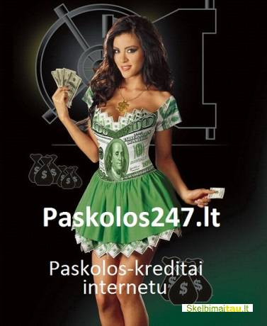 Paskolos greitieji kreditai internetu. paskolos 247lt.