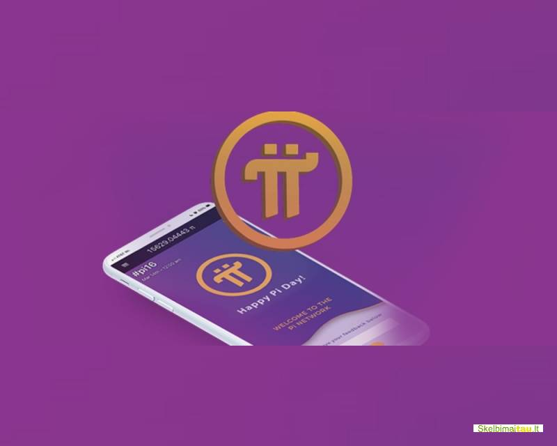 Pi network - darbas telefone su krypto valiuta