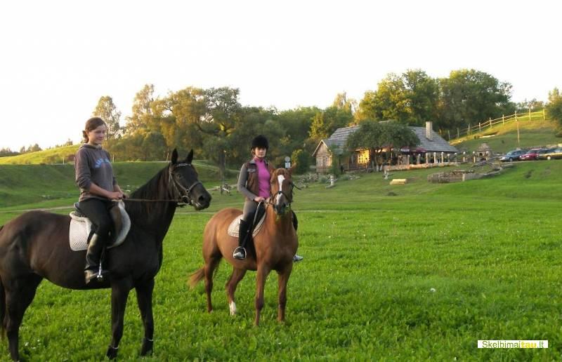 Poilsis kaimo turizmo sodyboje pakalnė raseinių rajone