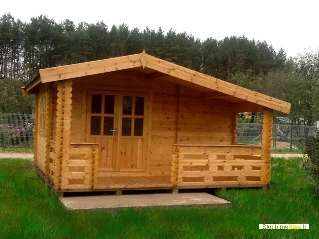 Projektuojame ir gaminame medinius sodo namelius