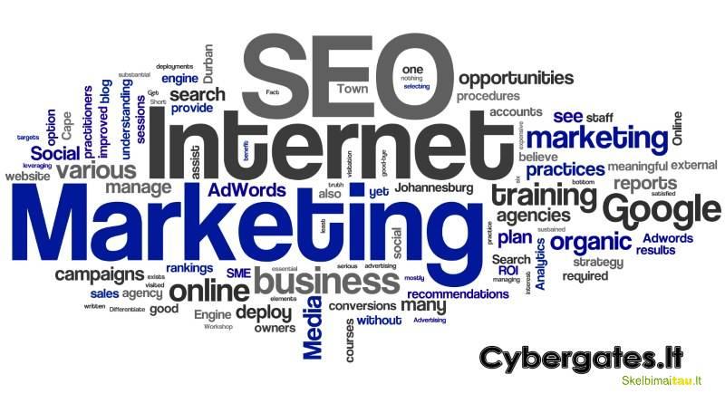 Seo paslaugos, reklama internete