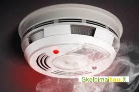 Sertifikuoti dūmų detektoriai nuo 6 eur garantija