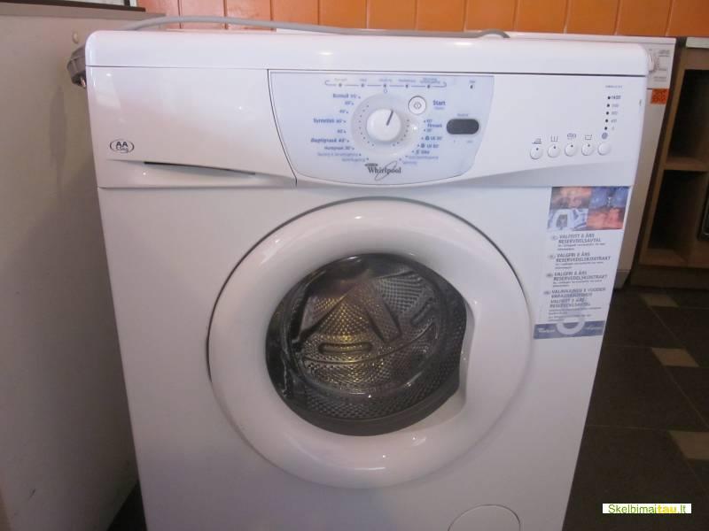 Skalbimo mašina whirlpool