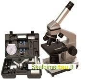 Teleskopai, mikroskopai, žiūronai, mikroskopai