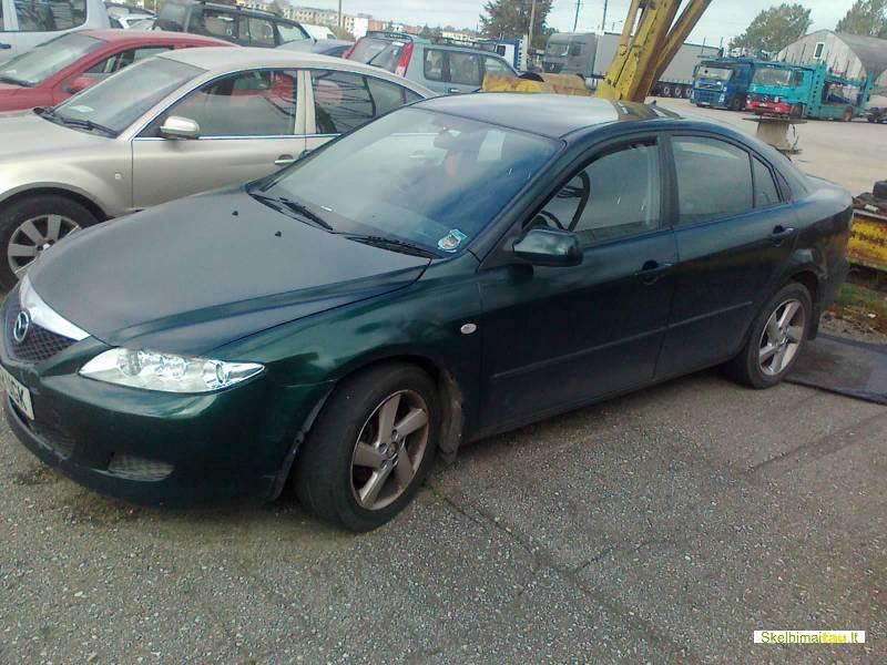 Dalimis - mazda 6 2002 1.8l 1798cm3 benzinas mechanine sedan