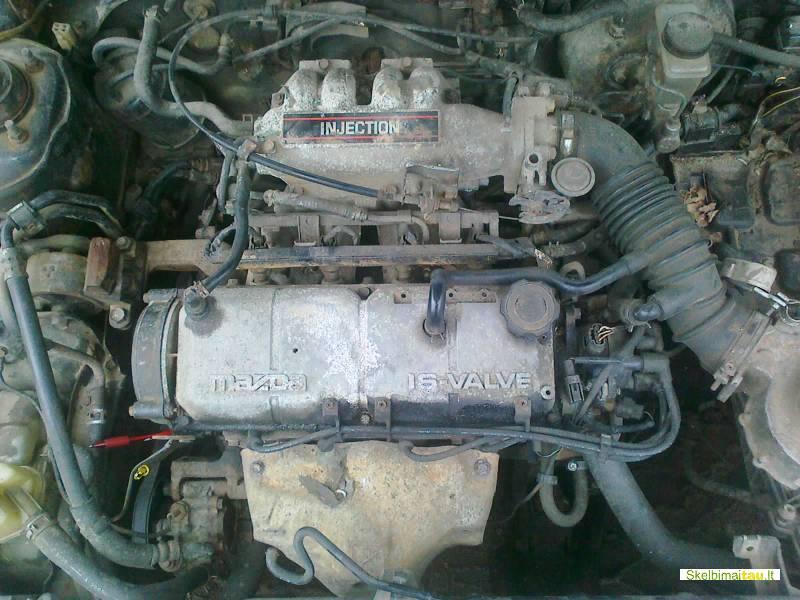 Dalimis - mazda mx-3 1994 1.6l 1598cm3 65kw benzinas mechani