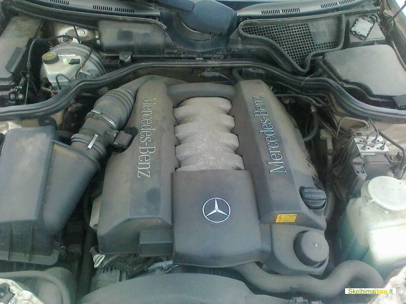 Dalimis - mercedes-benz e430 1999 4.3l benzinas automatas un