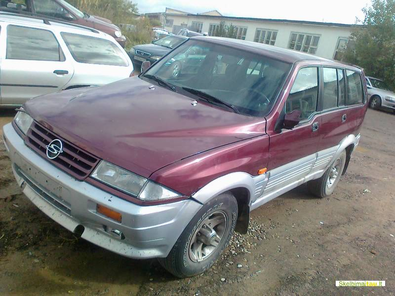 Dalimis - ssangyong musso 1996 2.9l 2874cm3 73kw dyzelinas m