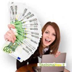 2 paskolos pasiūlymas nuo 15.000€ iki 15 milijonų eurų