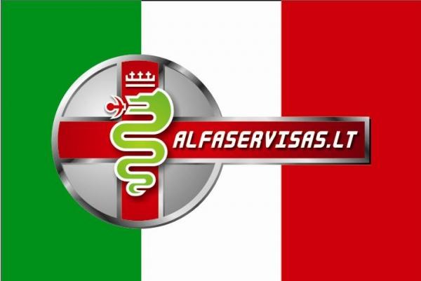 Alfa Romeo GTV dalimis