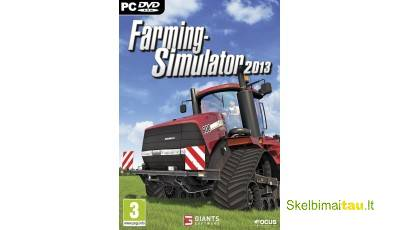Farming simulator 2013 - 39 lt steam, angliška
