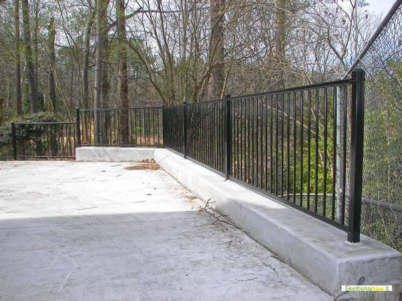 Gaminame metalinius vartus, laiptus, turėklus