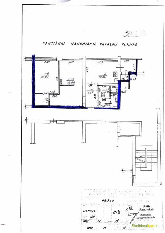 Gero išplanavimo 2k butas naujininkuose